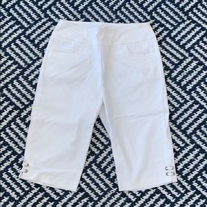 Tribal stretch pedal pushers white